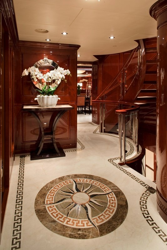 Passage Looking Aft
