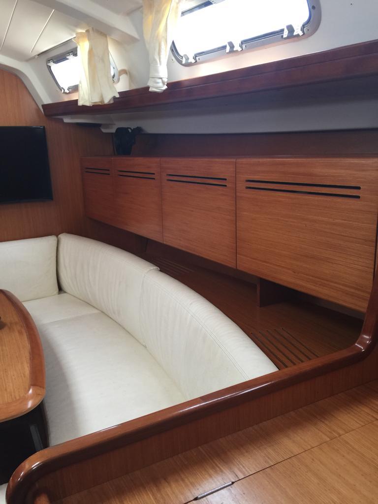 Dinette storage cabinets