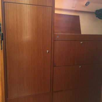 Hanging locker and drawers